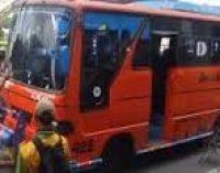 Dua Bus Kota Kedapatan Razia Dishub