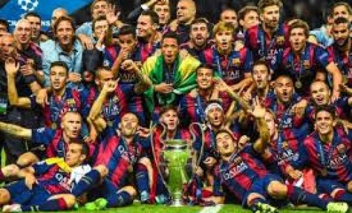 "FC Barcelona ""The Best Club In The Word "" 2015 Versi IFHHS"