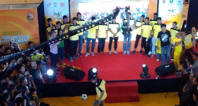 Alberto Goncalves Idola Meet And Greet Sriwijaya FC