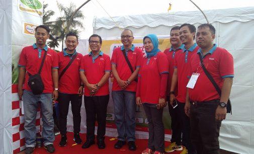 Wong Palembang Semarakan Family Day Alfamart