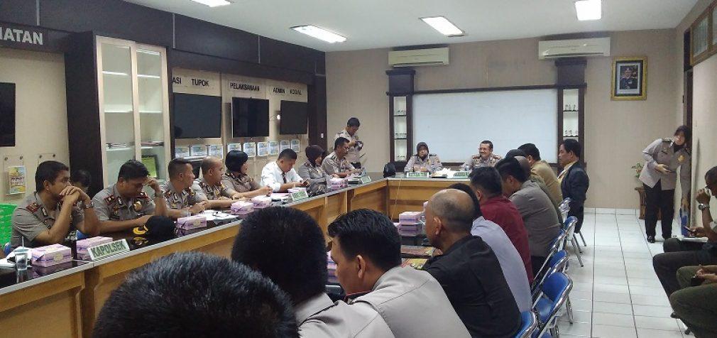 Pembahasan Perubahan Typelogi Polresta Palembang Menjadi Polrestabes