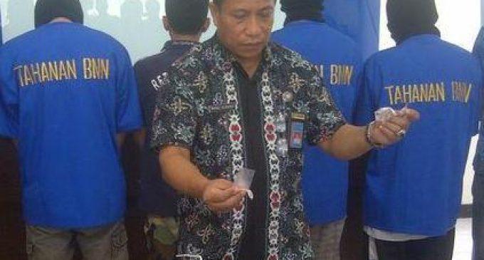 Pesta Sabu Dikantor, Oknum PNS Disdikpora Ditangkap