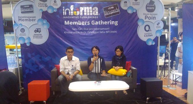 Keren…Member Gathering Informa Palembang sajikan Beragam Acara Menarik