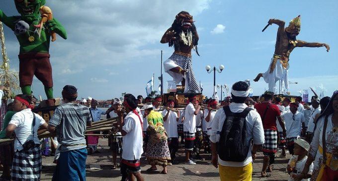 Festival GMT Dimulai, Ogoh-Ogoh Diarak Keliling BKB