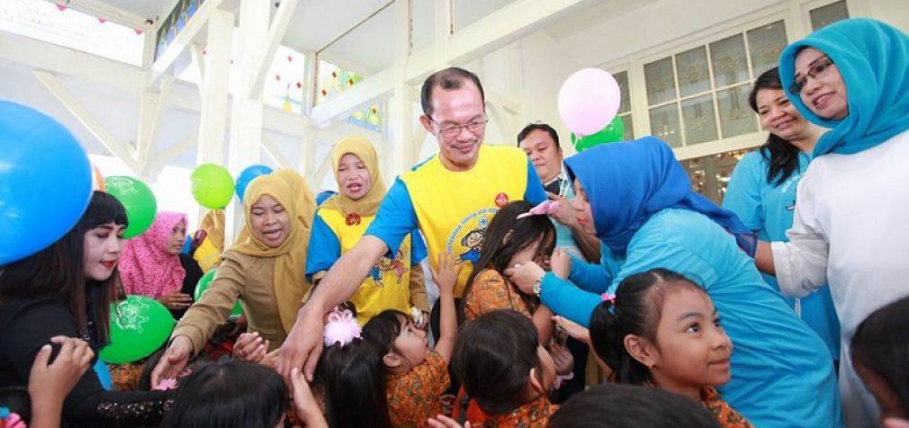 Vaksinasi PIN Polio Palembang Capai 95 Persen