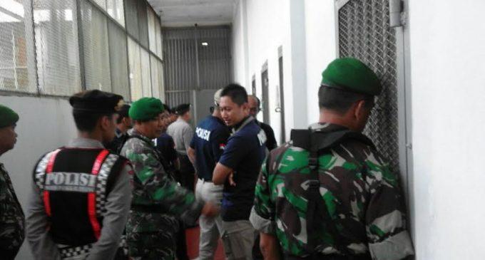 KODIM 0413 Bangka Ikut Tim Gabungan Razia Lapas Narkotika Pangkal Pinang