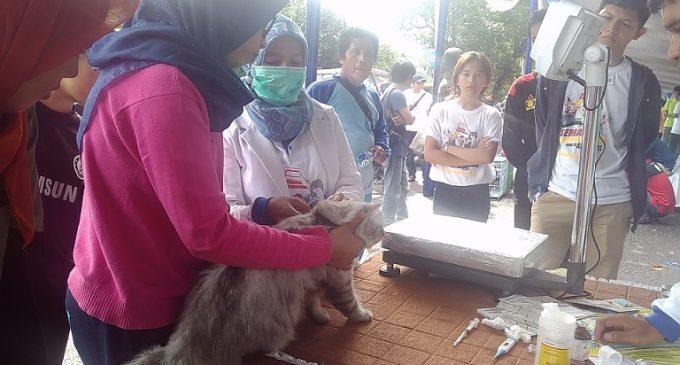 Yuk…. Vaksinasi Gratis Hewan Peliharaan Anda di Palembang Kontes Dan Festival Pet 2016