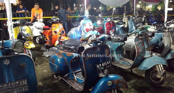 Scooterist Se Sumatera Kumpul di Palembang
