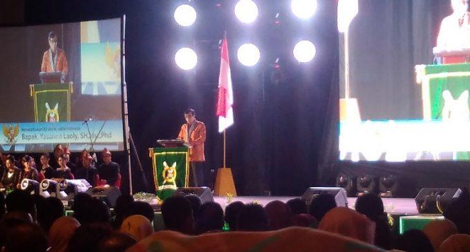 Menteri Yasonna Buka Kongres XXII Ikatan Notaris Indonesia di Palembang