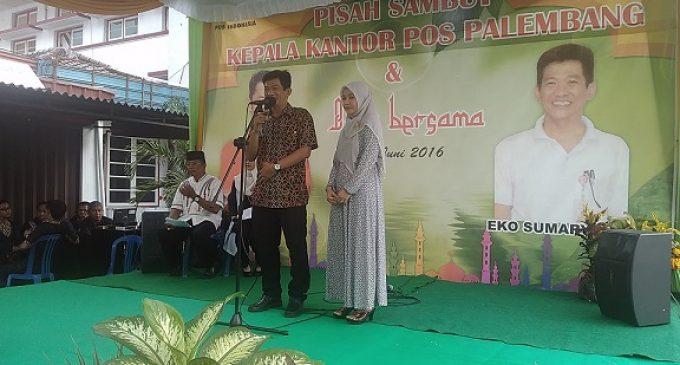 Pisah Sambut Kepala Kantor Pos Palembang
