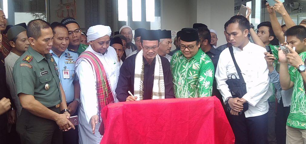 Peresmian Masjid Raya Citra Grand City Palembang
