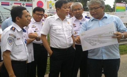 Lawatan Mendadak Menhub Tinjau Pembangunan LRT Palembang
