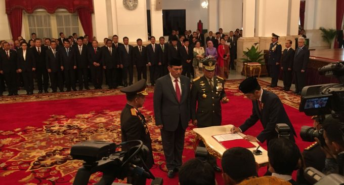Jenderal Pol Tito Resmi Dilantik Jadi Kapolri