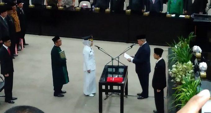 Fitrianti Agustinda Resmi Dampingi Harnojoyo