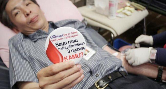 Donor Darah Kurangi Resiko Jantung