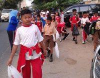 Bersama Siswa, Wako Operasi Semut di Empat Sekolah