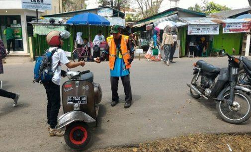 Mahasiswa UIN Raden Fatah Resah Parkir Liar Kampus
