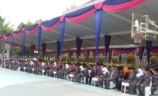 Pengukuhan Siswa Baru SMAN 1 Palembang