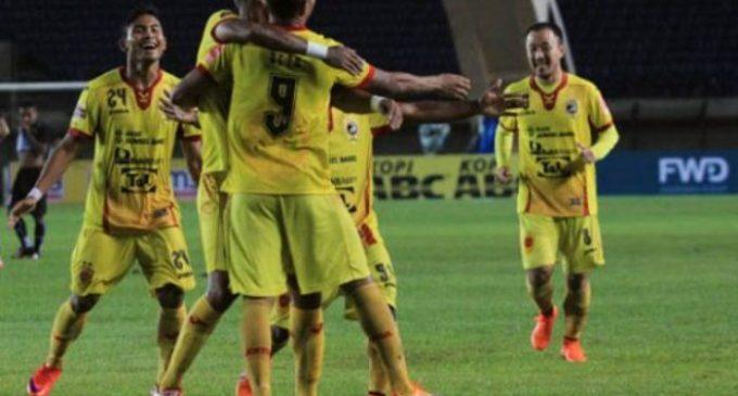Laga Barito VS Sriwijaya FC Berakhir Imbang