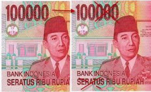 Bank Indonesia : Butuh 7 Tahun Ubah Rp 100.000  Jadi Rp 100