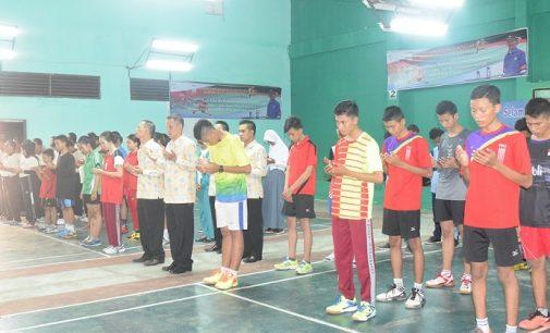 Turnamen Bulutangkis Walikota Cup Antar Pelajar se-Kota Palembang
