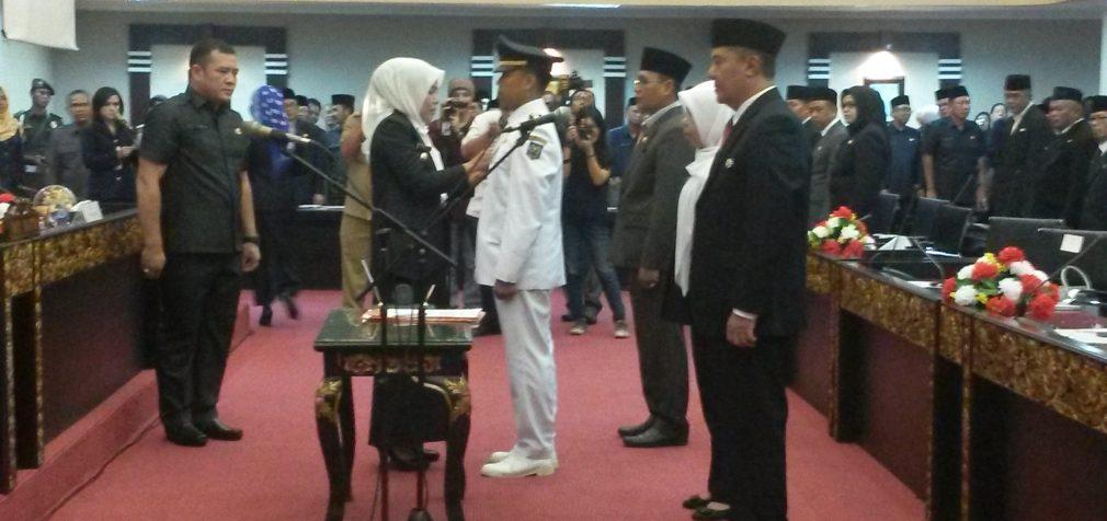 Lantik 57 Pajabat eselon 3 dan 4, Wawako Ajak Percepat Program Palembang Emas
