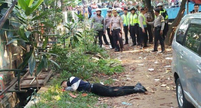 Pos Polantas Diserang, Kapolsek Tangerang Kota Ditusuk