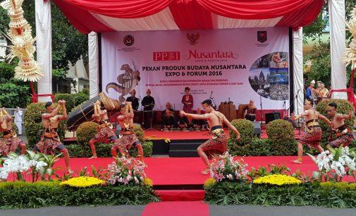 Dua Menteri kabinet Jokowi Terpukau Atas Sajian Seni Tari Asal kerajaan Sriwijaya