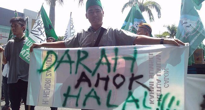 Gabungan Ormas Islam Se Sumsel Tuntut Pemakzulan Dan Pidanakan Ahok