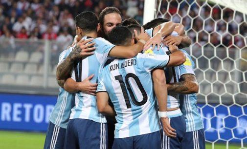 Peru Tahan Imbang Argentina