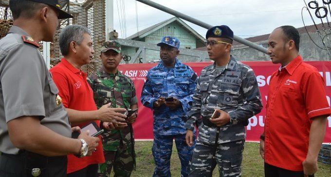 Telkomsel Bantu TNI Jaga Perbatasan Negara di Natuna