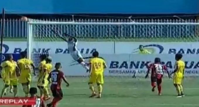 Persipura Tekuk Sriwijaya FC 1-0