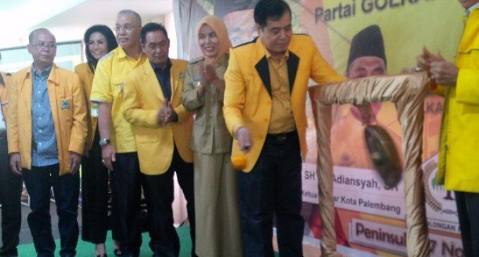 Dua Kandidat Bertarung Dalam Musda Golkar Palembang