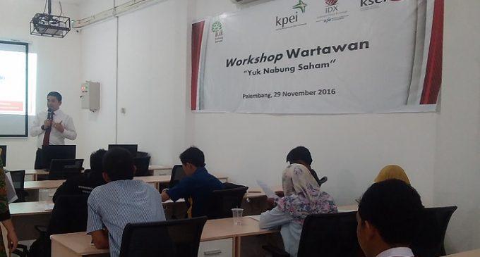 BEI Selenggarakan Workshop Wartawan Daerah Serentak di Dua Kota