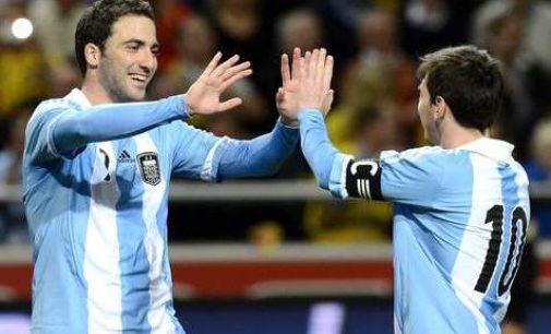 Duet Messi-Higuain Siap Bawa Tango Raih Kemenangan