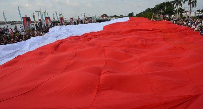 15.000 Warga Hadiri Pagelaran Nusantara Bersatu