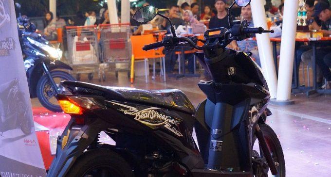 Honda New BeAT Street Mengaspal di Palembang
