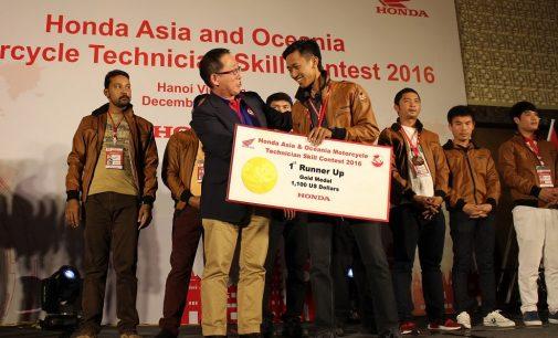Hebat… Fadzar Supriadi Runner-UP Kontes Teknik Asia-Ocenia