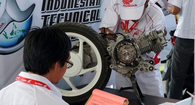 Mekanik AHASS Siap Adu Keterampilan di Asia Oceania