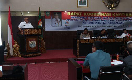 Alex Beri Wejangan Ke Pemkot Palembang, Tanya Kesiapan Asean Games