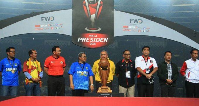 PSSI Berencana Gulirkan Kembali Turnamen Piala Presiden
