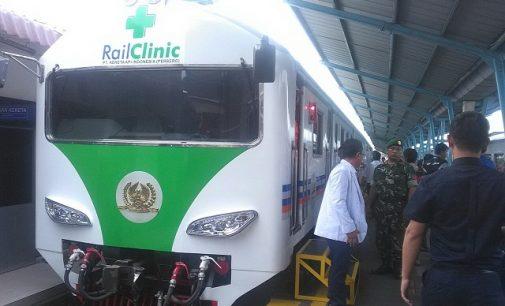 PT KAI Divre III Luncurkan Rail Clinic Generasi Kedua