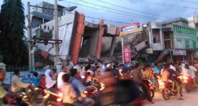 Gempa 6,4 SR Guncang Aceh