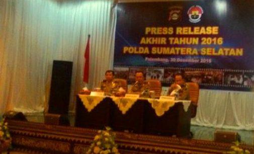 16 Anggota Polisi Polda Sumsel Dipecat