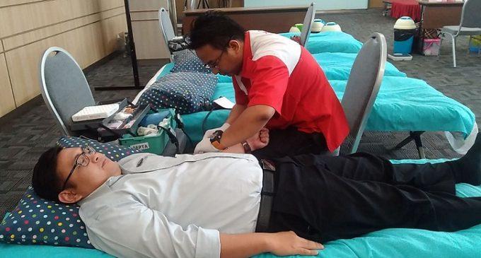 The 1O1 Hotel Palembang Rajawali Gelar Donor Darah