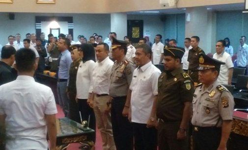 Harnojoyo Kukuhkan Saber Pungli Kota Palembang