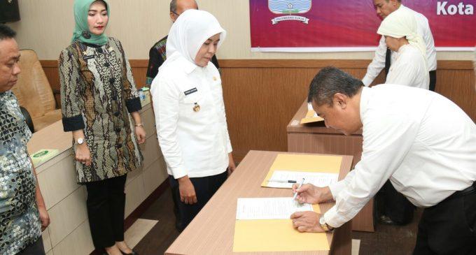 Puluhan PNS Inspektorat Awali Penandatangan Fakta Intergritas