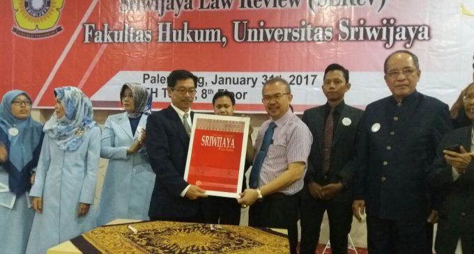 Launching Perdana SLRev Edisi Elektronik FH Unsri