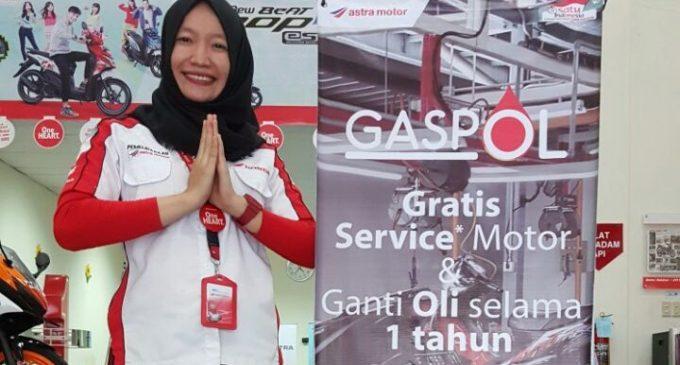 Beli Motor Honda Dan Dapatkan Program GASPOL