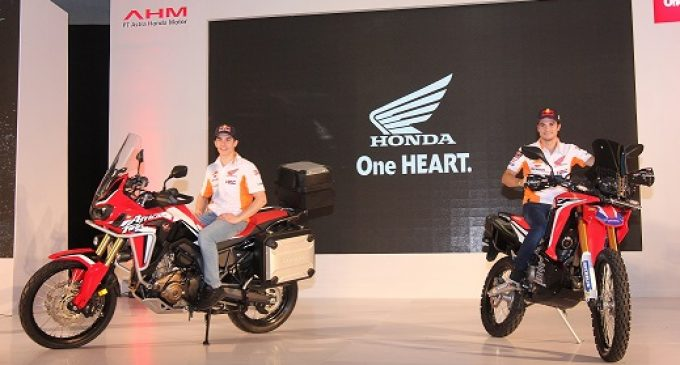 AHM Launching Motor Adventure Tourer Honda CRF1000L Africa Twin dan CRF250RALLY